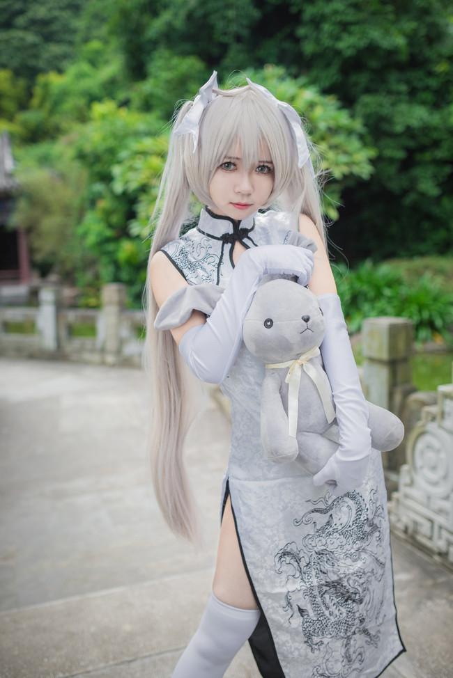 春日野穹白旗袍