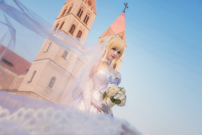 阿尔托利亚 白婚纱