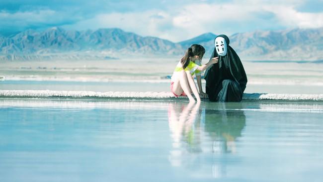 多年前的青海旅拍,盐湖实在是太美了