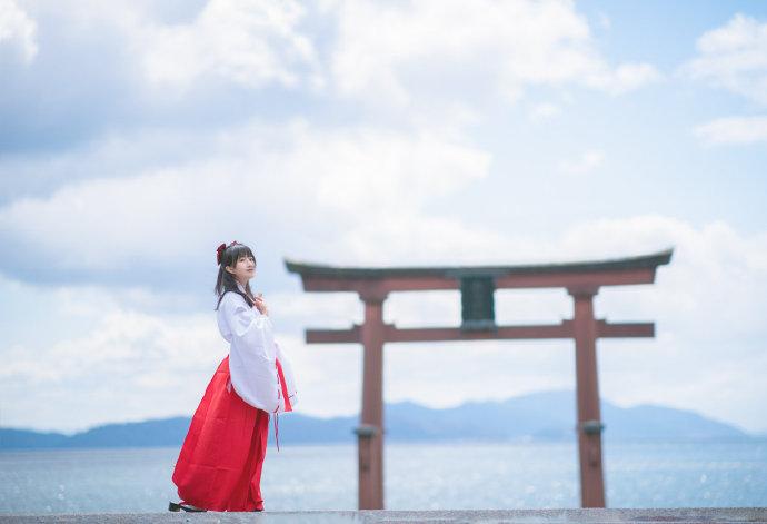 琵琶湖,白须神社