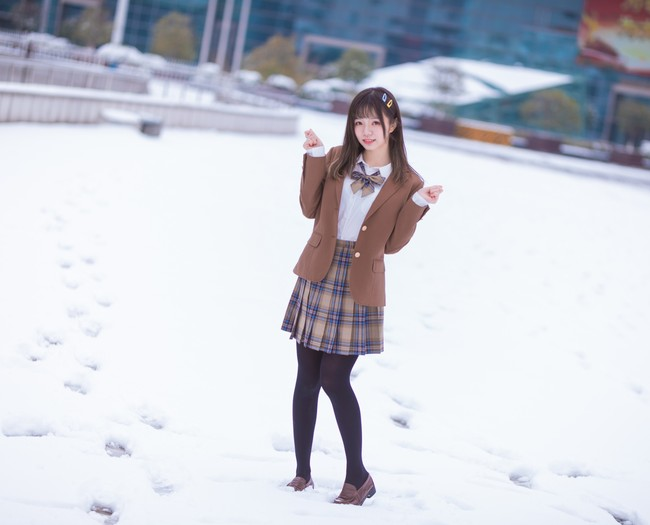 之前雪景的场照