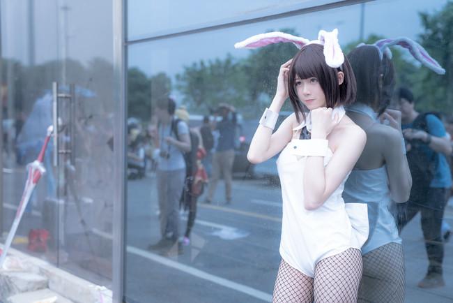 加藤惠,兔女郎Ver.