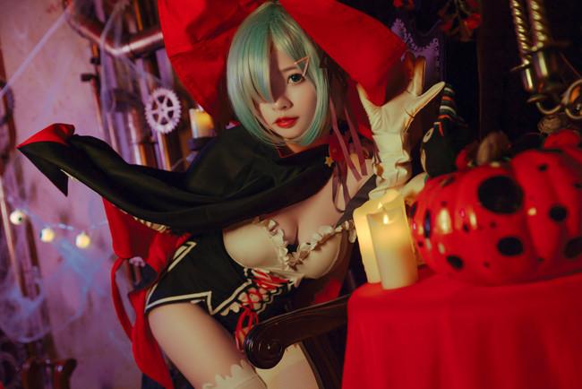 蕾姆的万圣节装扮,你喜欢吗?