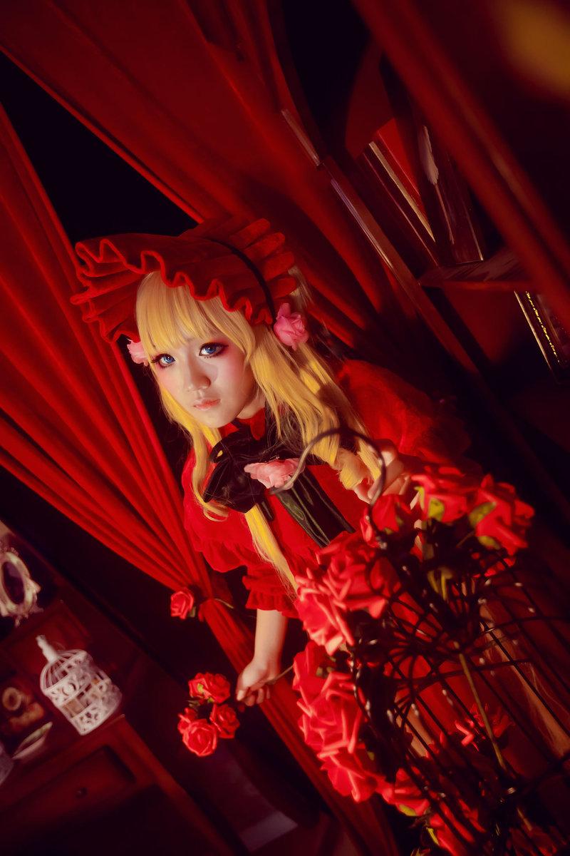 《蔷薇少女》第五人偶真红COS欣赏