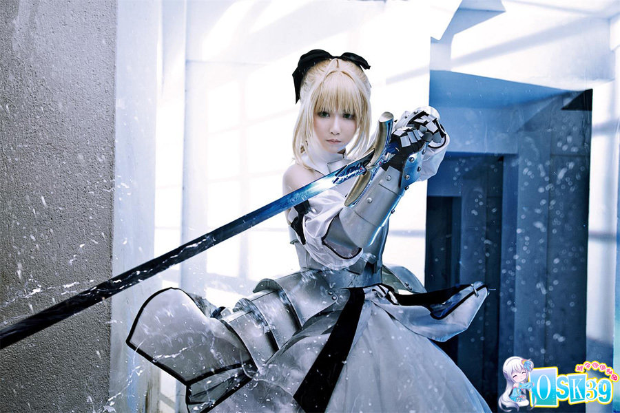 《Fate/UC》Saber Lily之COS欣赏