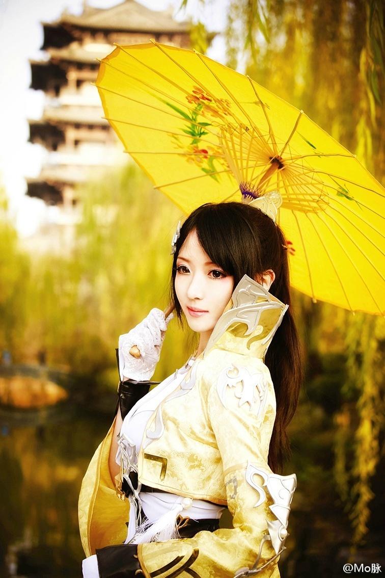 阳春白雪,风陌纸伞烟花尽