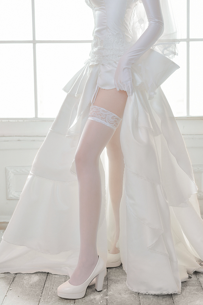 约会大作战 时崎狂三 婚纱ver. 士道君,和我结婚吧