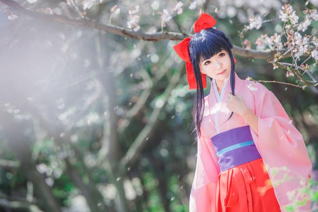 樱花大战 真宫寺樱 趁着红唇尚未褪色之际,恋爱吧,少女!