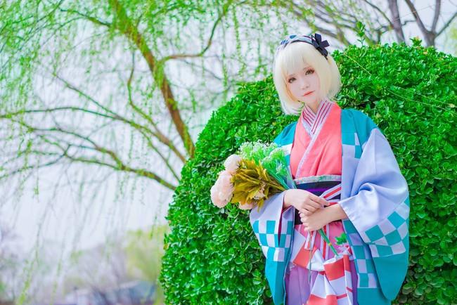 青の祓魔师=杜山诗惠美=封面和服Ver.