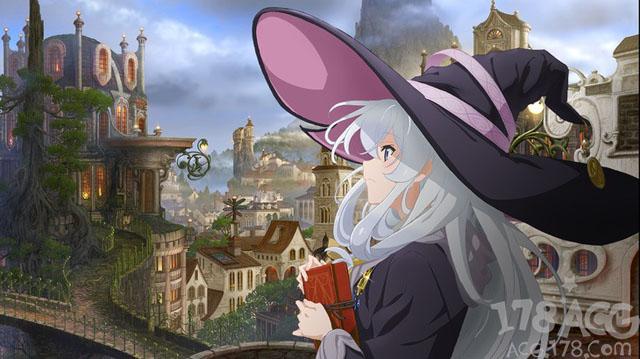 魔女游历世界,轻改动画「魔女之旅」第2弹视觉图解禁