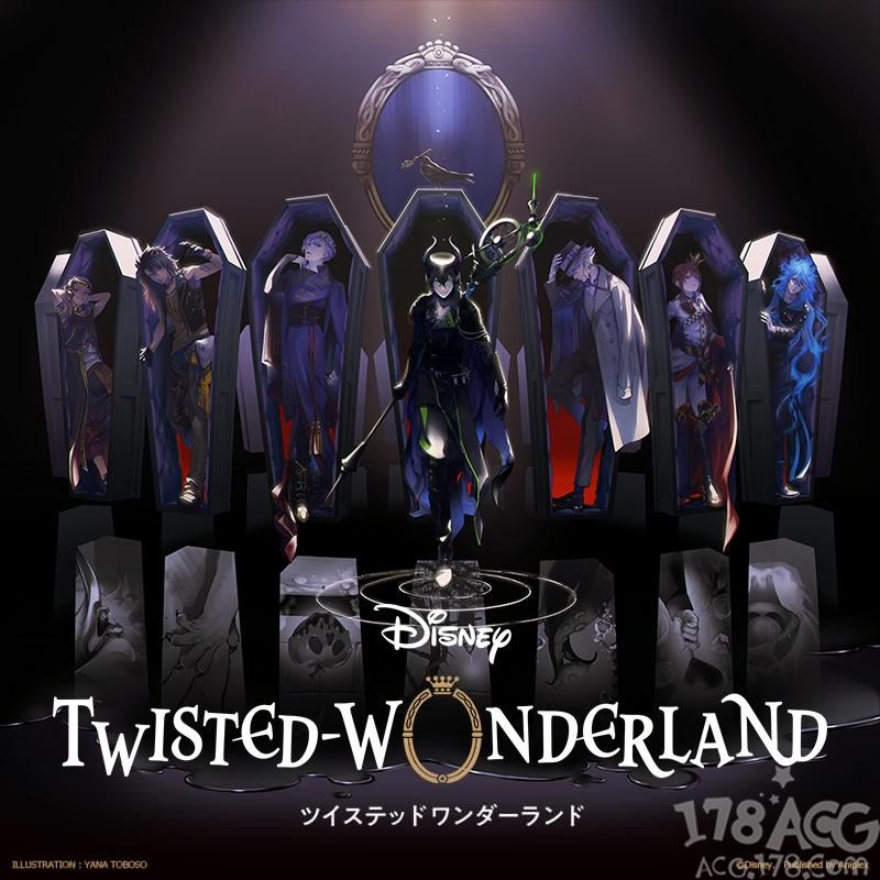 童话主题、绝美人设、音乐仙境,手游「TWISTED-WONDERLAND」推荐