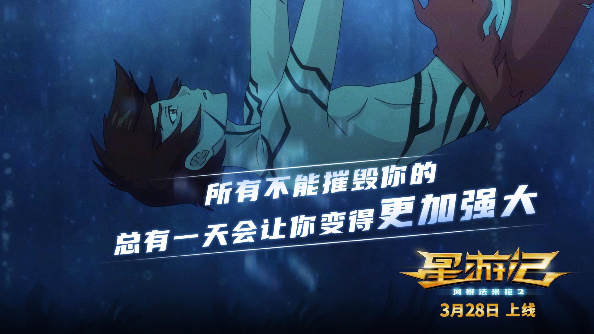 同期网络预约人次TOP1 电影 《星游记2》3月28日英雄重聚