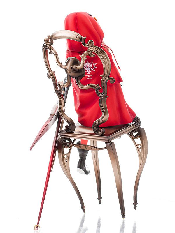 插画家neco所绘的「赤色猎人」手办发售