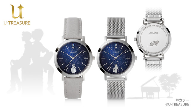 《新世纪福音战士》将和U-TREASURE合作推出手表