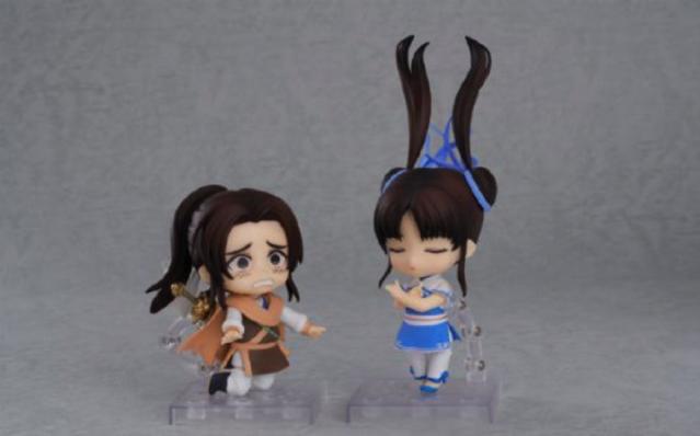 GSC「仙剑奇侠传」李逍遥粘土人上架预定 售价346元含4款表情
