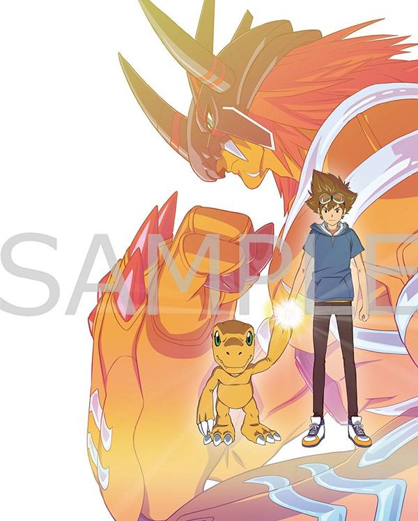 「数码宝贝大冒险:最后的进化·羁绊」豪华版BD设计公开