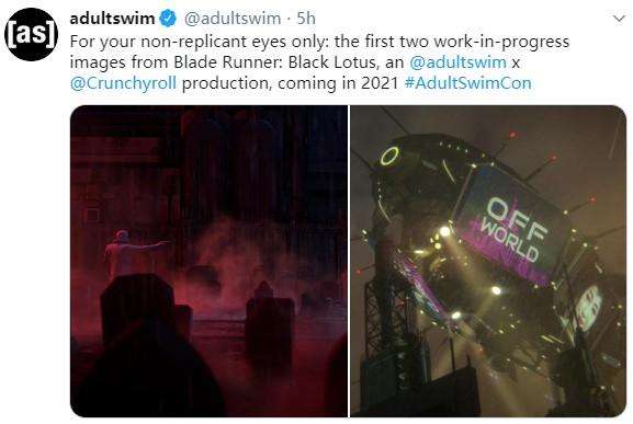 动画「银翼杀手:黑莲花」公开新画面 明年推出