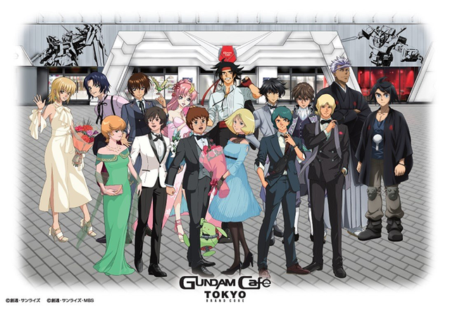 """GUNDAM Cafe TOKYO BRAND CORE""宣传视觉图公开"