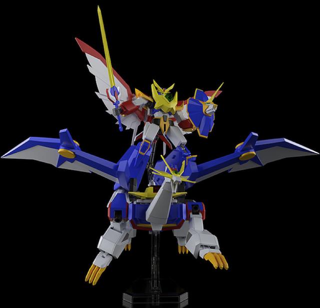 「绝对无敌雷神王」中的「爆龙王」塑料拼装模型登场
