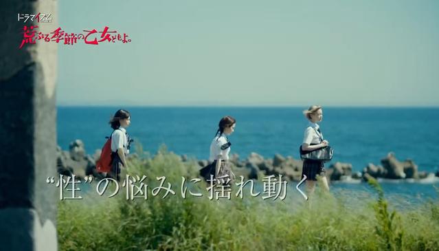 漫改日剧「骚动时节的少女们啊」预告公开 9月8日开播