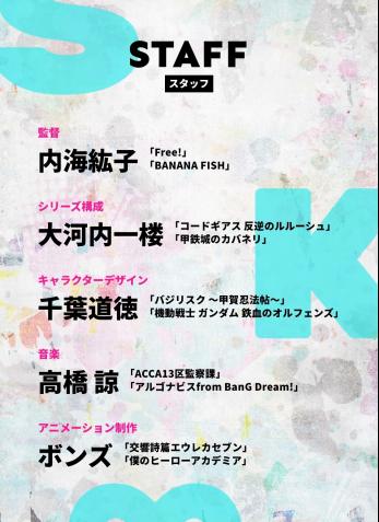 内海紘子 x 骨头社原创TV动画「SK∞エスケーエイト」公布新PV