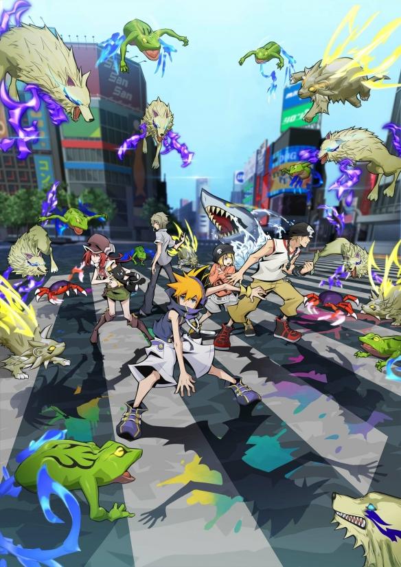 动画版「美妙世界」主视效图公开 计划2021年正式开播