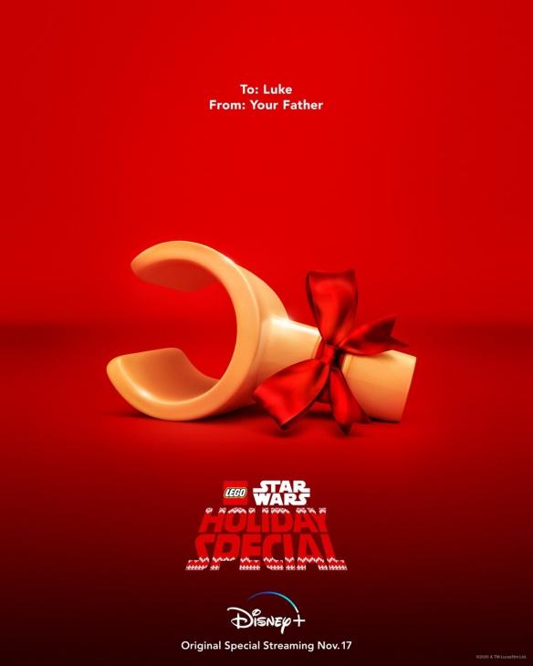 迪士尼动画「乐高星球大战:圣诞特别篇」公开全新海报
