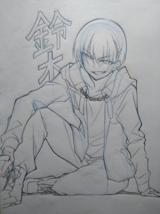 「成神之日」监督浅井义之公开第3话新角色草图