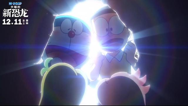 「哆啦A梦:大雄的新恐龙」新预告公开