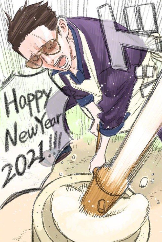 「极主夫道」新年贺图公开