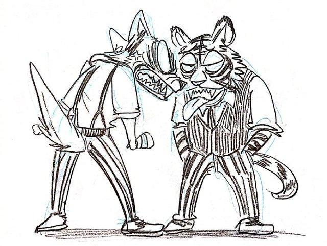 板垣巴留「BEASTARS」雷格西&比尔新绘公开